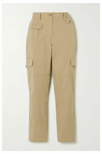 Dolce & Gabbana - Cotton-blend Twill Slim-leg Pants - Beige