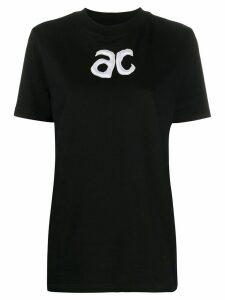 Courrèges AC T-shirt - Black