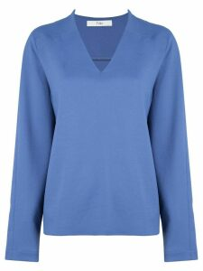 Tibi Chalky draped raglan blouse - Blue