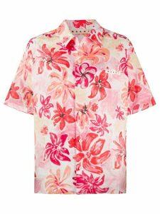 Marni floral print shirt - PINK