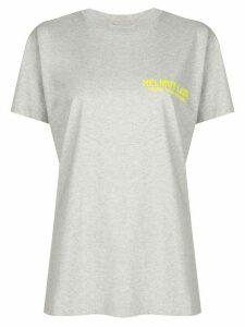 Helmut Lang logo T-shirt - Grey