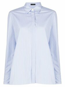 Versace button front shirt - Blue