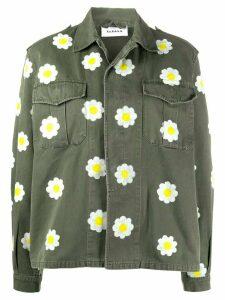 P.A.R.O.S.H. daisy print jacket - Green