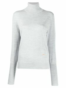 Victoria Beckham roll-neck lightweight sweater - Grey