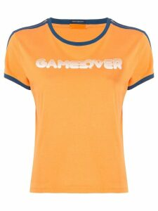 Mother graphic print T-shirt - ORANGE