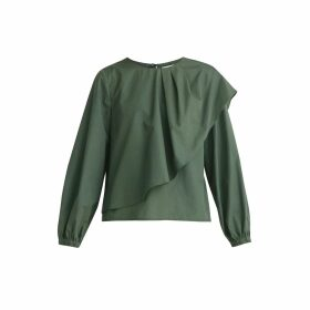 THEAVANT - Polka-Dot Silk Blouse In Black