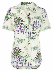 Kenzo floral-print shirt - NEUTRALS