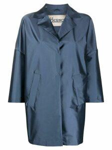 Herno single breasted jacket - Blue