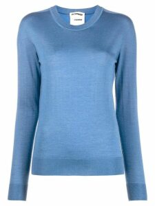 Jil Sander slim fit top - Blue