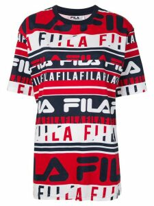 Fila logo-print oversized T-shirt - FIL.410