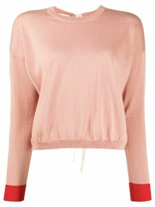 Marni striped jumper - PINK