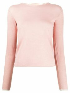Marni slim fit top - PINK