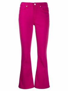 Dondup Amanda mid-rise flared jeans - PINK