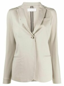 Fabiana Filippi fitted single-buttoned blazer - Green