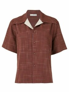G.V.G.V. open collar shirt - Red