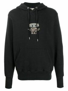 Eytys Lewis logo-print hoodie - Black