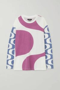 Isabel Marant - Leilo Printed Cotton-jersey T-shirt - Pink