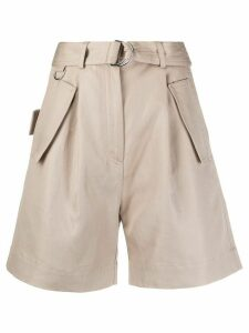 MSGM tailored shorts - NEUTRALS