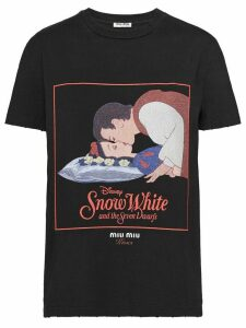 Miu Miu Kisses Snow White T-shirt - Black
