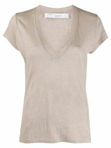 IRO Rodeo V-neck T-shirt - NEUTRALS