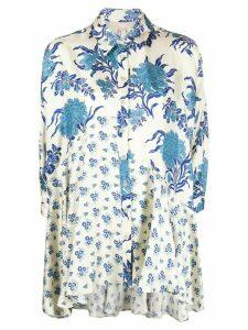 Antonio Marras floral print blouse - NEUTRALS