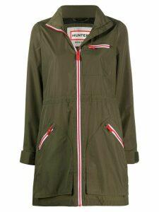 Hunter zipped long sleeve jacket - Green