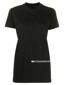 Rick Owens DRKSHDW Level patch detail T-shirt - Black