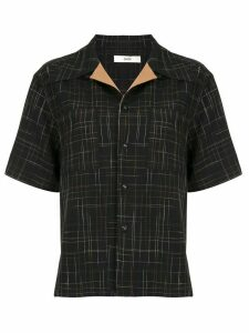 G.V.G.V. open collar shirt - Black