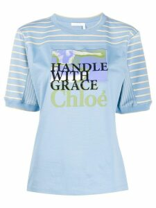 Chloé Femininities printed T-shirt - Blue