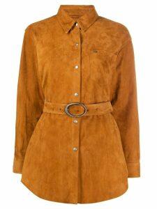 Giuseppe Zanotti shirt jacket - Brown