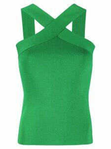 P.A.R.O.S.H. crossover strap vest top - Green