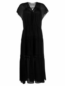 See by Chloé layered style tiered dress - Black