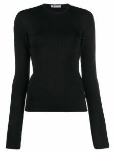 Off-White cut-out detail jumper - Black