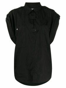 Etoile Manuela sleeveless blouse - Black