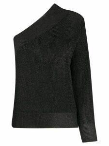 Laneus one shoulder jumper - Black