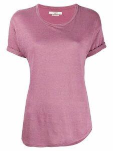 Isabel Marant Étoile linen short sleeve T-shirt - PINK