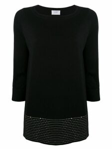Snobby Sheep sequin-embellished knitted top - Black