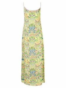 Alice+Olivia Harmony floral slip dress - Yellow