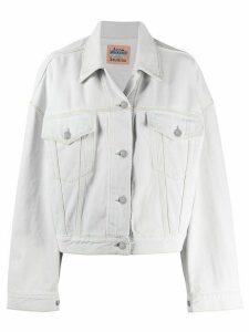 Acne Studios boxy-fit denim jacket - Blue