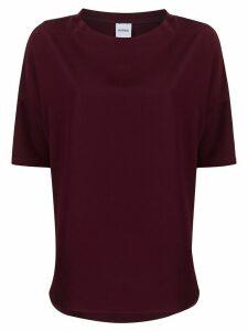 Aspesi oversized silk blouse - Red