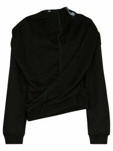 Y/Project Infinity draped sweatshirt - Black