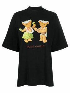 Palm Angels dancing bears T-shirt - Black