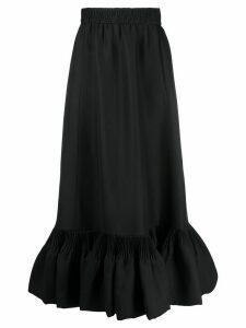 Valentino peplum hem skirt - Black