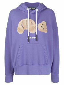 Palm Angels bear hoodie - PURPLE