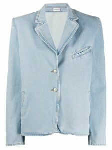 Magda Butrym Maidstone denim blazer - Blue