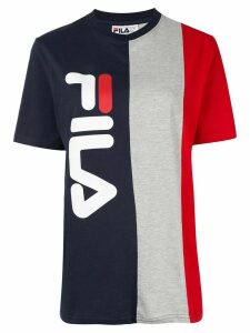 Fila crew neck block color logo T-shirt - Multicolour