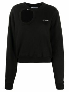 Off-White Cut Here sweatshirt - Black