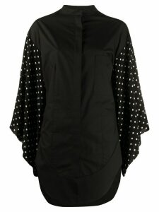 Haider Ackermann oversized wide-sleeves shirt - Black