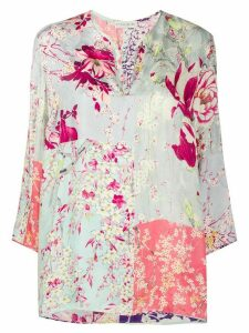 Etro floral print blouse - PINK