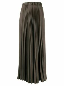 P.A.R.O.S.H. pleated long skirt - Green